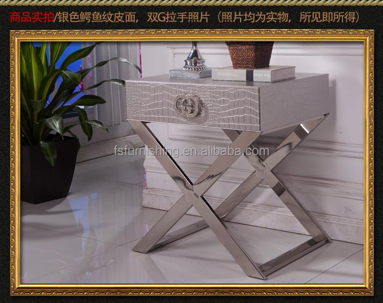 Fo417 Contemporáneo Moderno Acero Inoxidable Negro Blanco Oro Plata ...