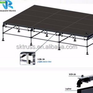 4x8ft Government units for activities portable folding cheap stage