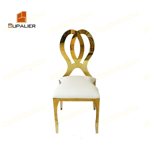 Wholesale stainless steel gold infinity chair for sale