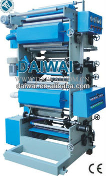 Plastic bags the printing with double blower width 600mm, one set two colors(DW-P2)