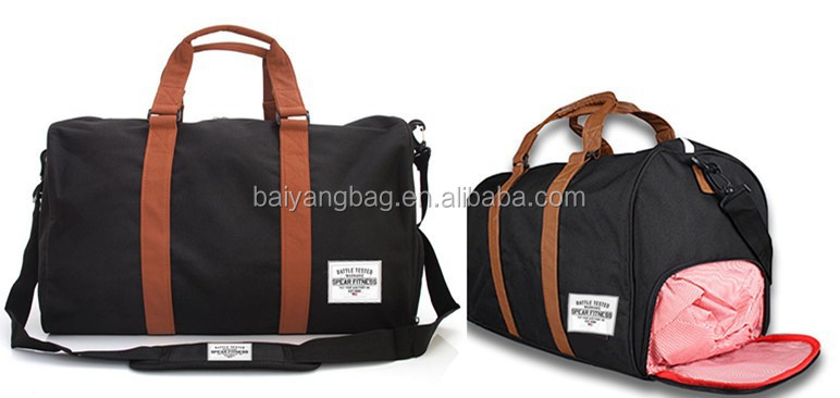Sports Duffle Bag With Shoes Compartment Bags Sport Shoe Product On