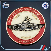 america eagle air force coin badge