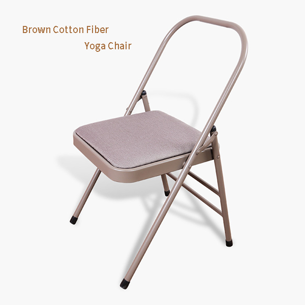 Yoga <strong>Chair</strong> Auxiliary Tool Wholesale Backless Metal Iyengar Yoga Folding Steel <strong>Chair</strong>