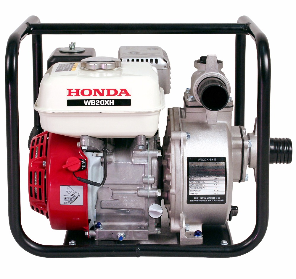 WB30XH 5.5HP High Pressure Gasoline HONDA Water Pump