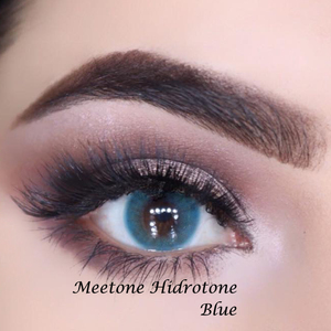 Meetone Hidrotone famous brand 18 luxury colors fancy eye contact lens dropship