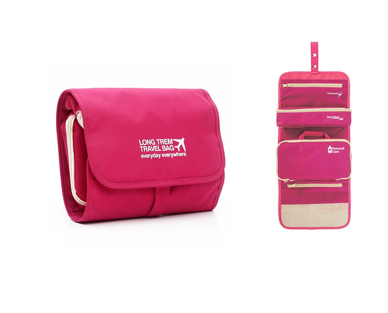 Compact Hanging Travel Toiletry Bag   travel organizer Wash Bag   Travel  Accessories Storage Organizer Bag be4ae282e1610
