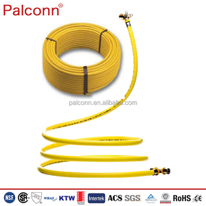 Yellow Gas Pipes and fittings PEX AL PEX Pipe