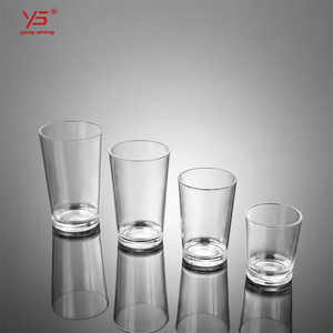 Hot sell new design acrylic material drinking glass cup