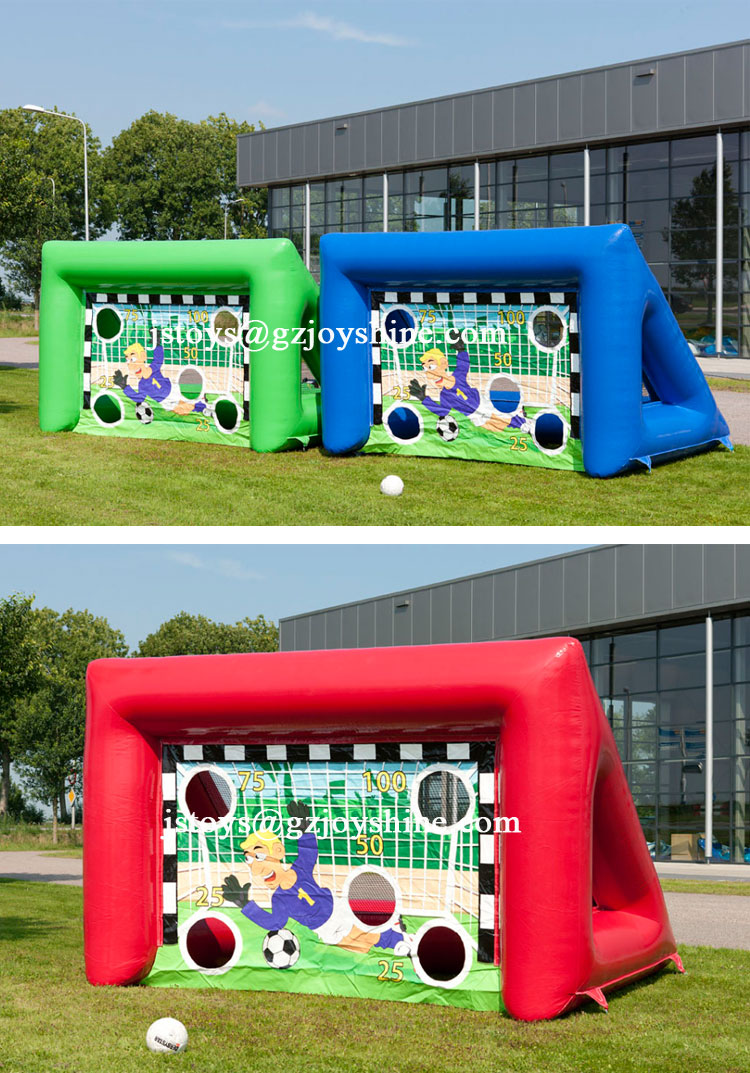 Outdoor Kids and Adults Inflatable Inter Football Dart Target Game For Sale
