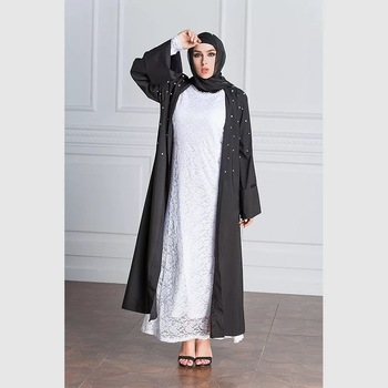 wholesale online simple designs western open style muslim women turkish islamic clothing dubai abaya for Elegant woman