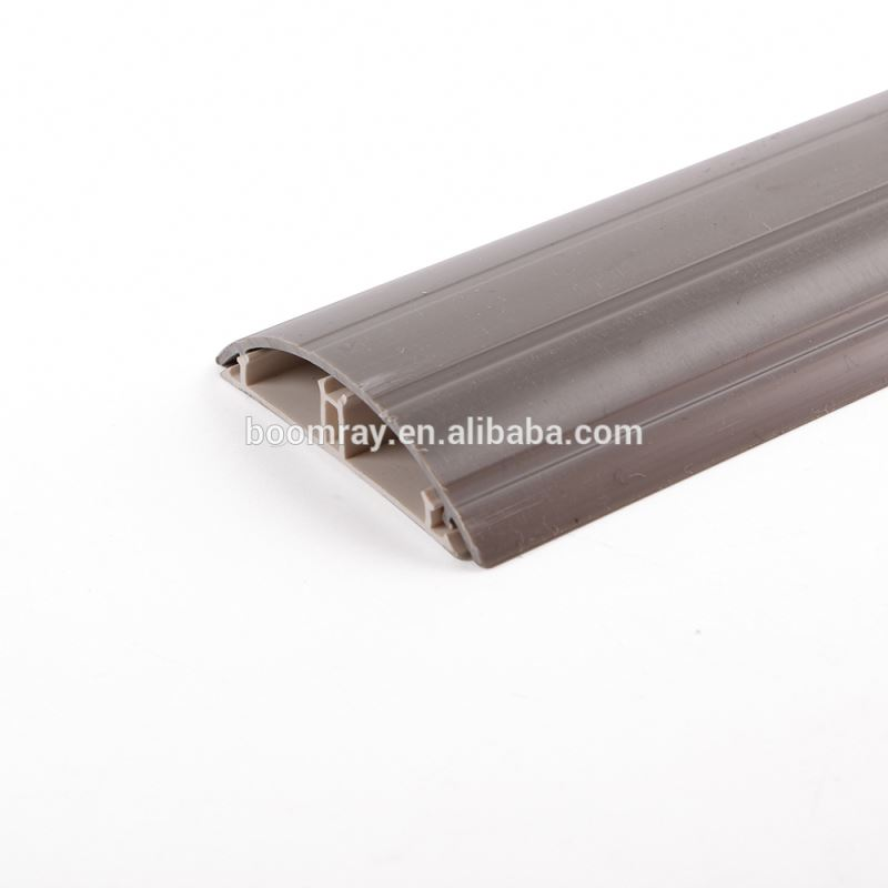 China Golden Supplier Small Latching Surface Solid Floor transparent cable ducts with Cover