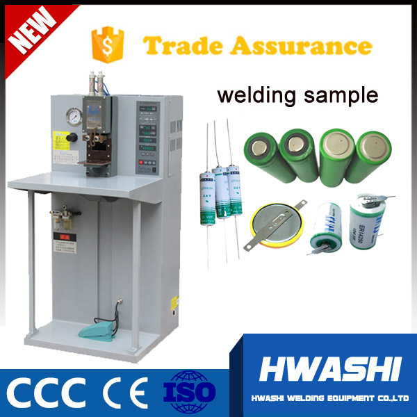 hwashi micro battery tabs multi-point spot welding machine