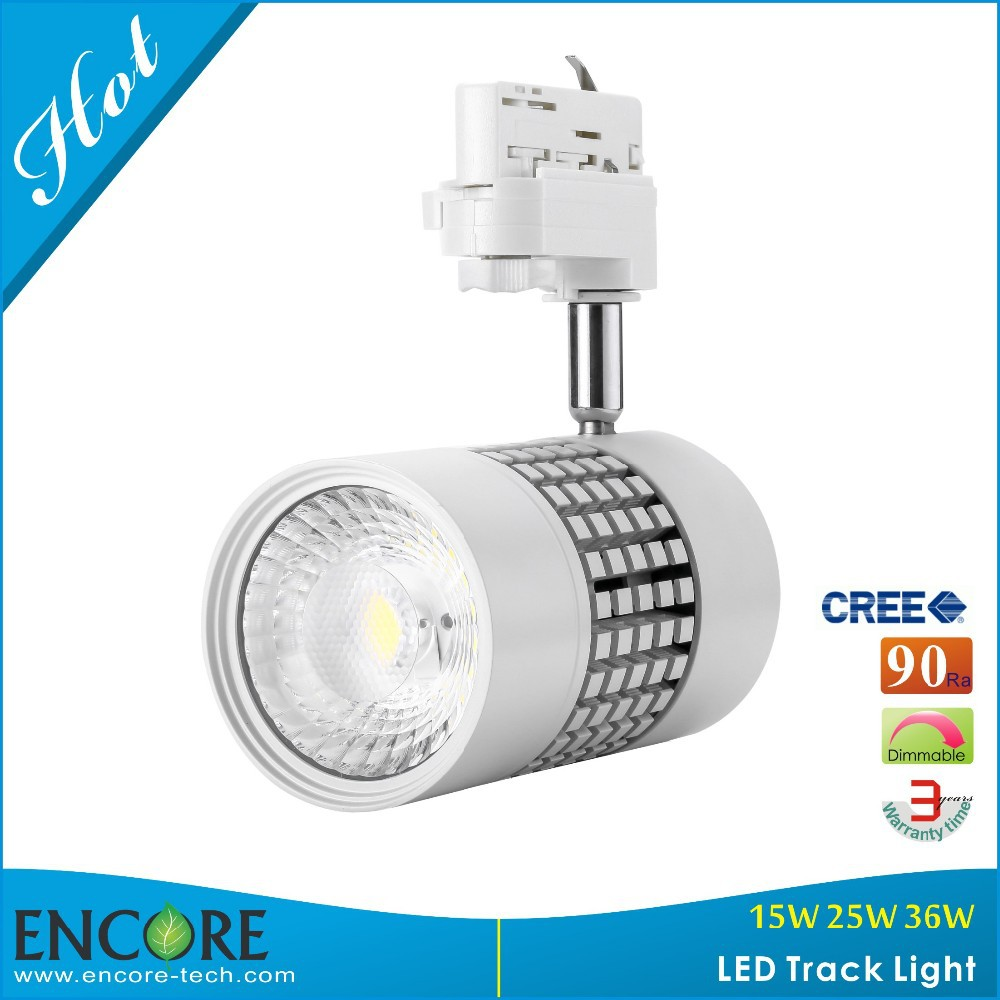 High CRI 95 Dimmable COB LED Track Light Aluminum Body Lamp 2700K-5000K Small LED Spot Light Recessed Indoor Ceiling Lighting