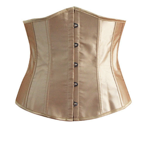 Women Sexy Corset Bustier Underbust Corset Waist Training Cincher Body Shaper Ladies Bridal Lace up Waist Cincher Boned Waspie