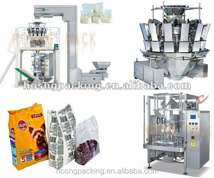 HS-520A Apple slices Packing machine with10 or 14 heads weigher
