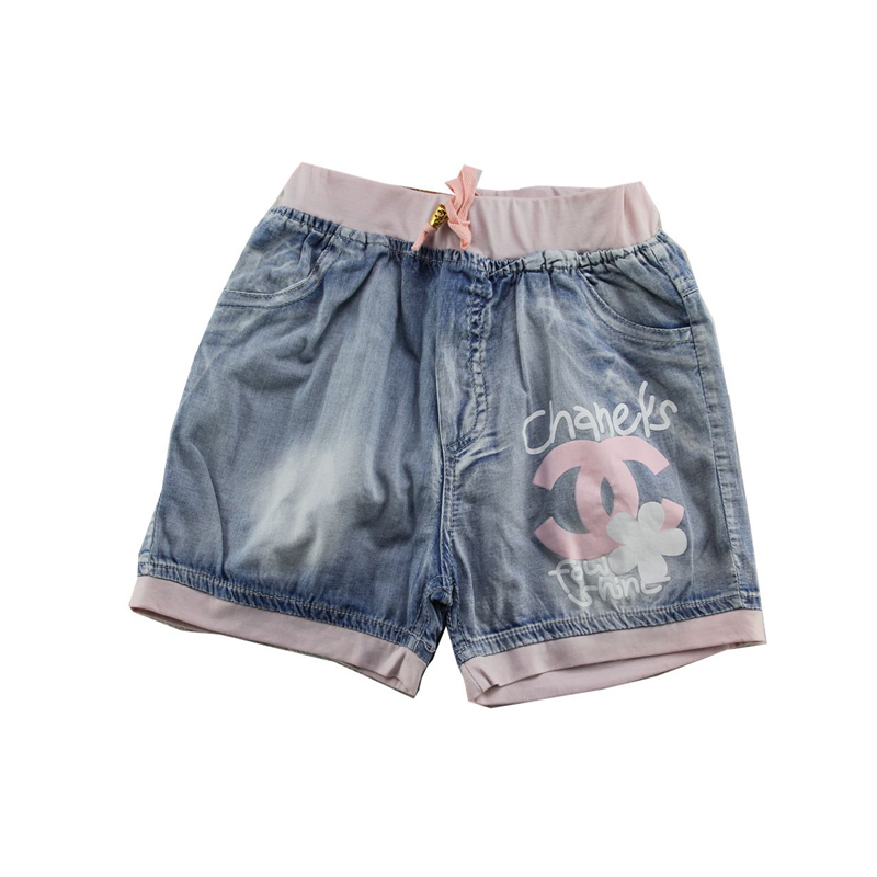 15320c075 Buy New 2015 Summer Style Cute Girls Denim Shorts Vintage Casual Elastic  Waist Short Jeans Children Clothes in Cheap Price on m.alibaba.com