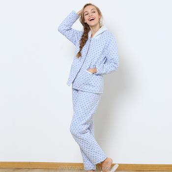ee59f4dd3acb Ladies Winter Nightwear Cotton Satin Nightwear For Women - Buy ...