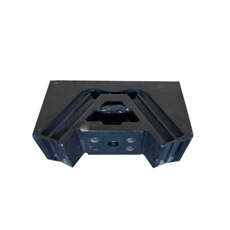 Precision fixed support engine system engine foot bracket