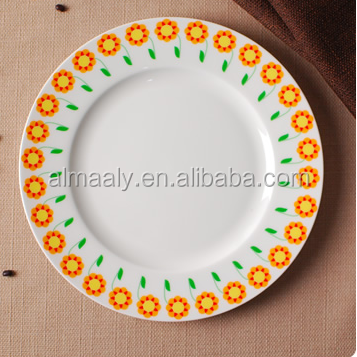 Hot Sale Household Food Cheap Dinner Kitchen Porcelain Plates