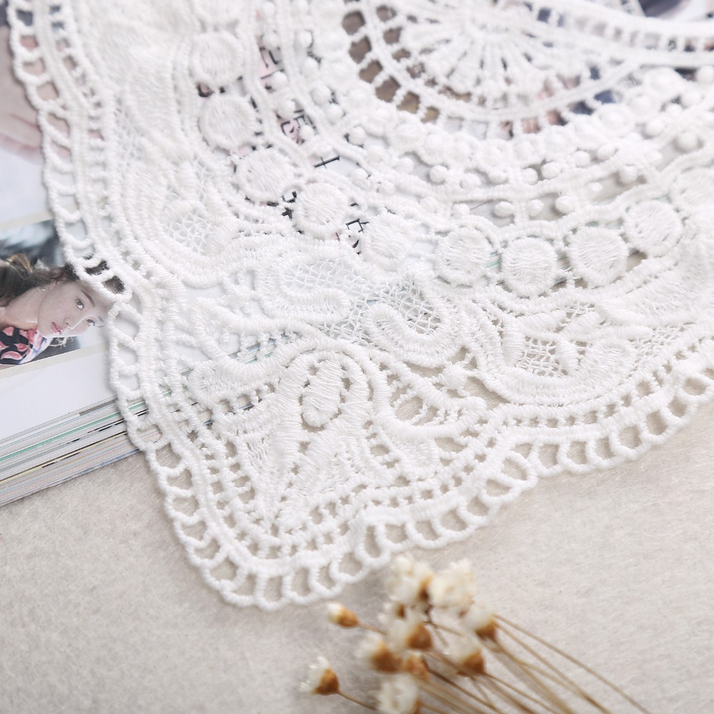Other Antique Lace & Crochet Vintage Style Fine Yarn Hand Crochet Lace Beige Cotton Doily 38cm To Assure Years Of Trouble-Free Service