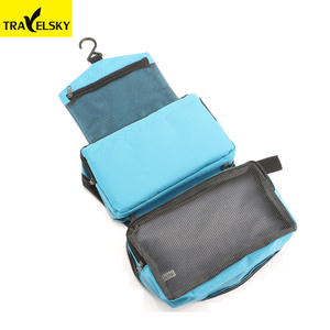 Travelsky Wholesale water resistance oxford travel cosmetic makeup bag