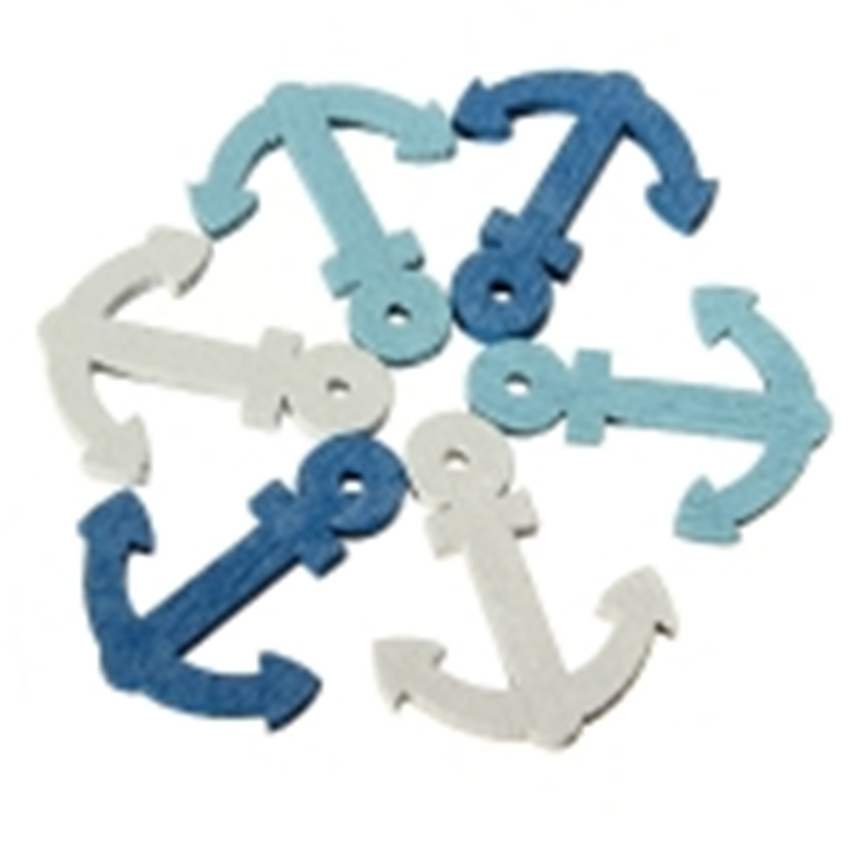 New 50Pcs Funny <font><b>Nautical</b></font> Mini Wooden Anchor Crafts DIY Wood Hanging Gift <font><b>Home</b></font> <font><b>Decoration</b></font> Ornament Embellishment