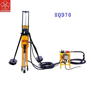 in stock Hongwuhuan HQD70 electric small DTH water drilling machine