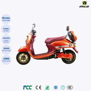 China Vespa electric scooters 800w motorcycle futengda factory