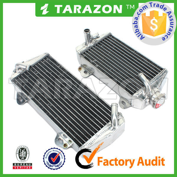 top quality motocross Aluminum Radiator for yamaha yz yzf wr f