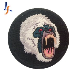 kunshan Best selling promotion gift patches cheap embroidered patches Personalized Design Logo Embroidered