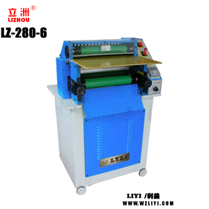 LZ-280-6 Leather Ironing Machine With Low price leather belt making machine for leather product shoes bag