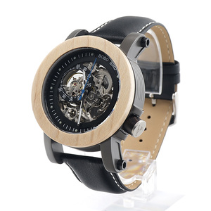 BOBO BIRD K14 Automatic WristWatch For Men Dress watch relojes hombre 2017 Mechanical For Wholesale