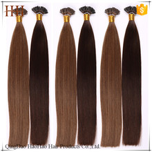 Unprocessed Brazilian Human Hair ,Wholesale 100% Human Hair Extension,Double Drawn 1g/Strand I Tip Human Hair