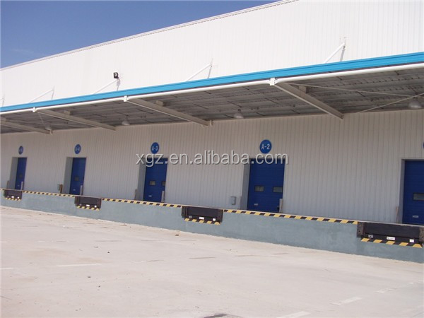 clear span rigid competitive light steel structure warehouse