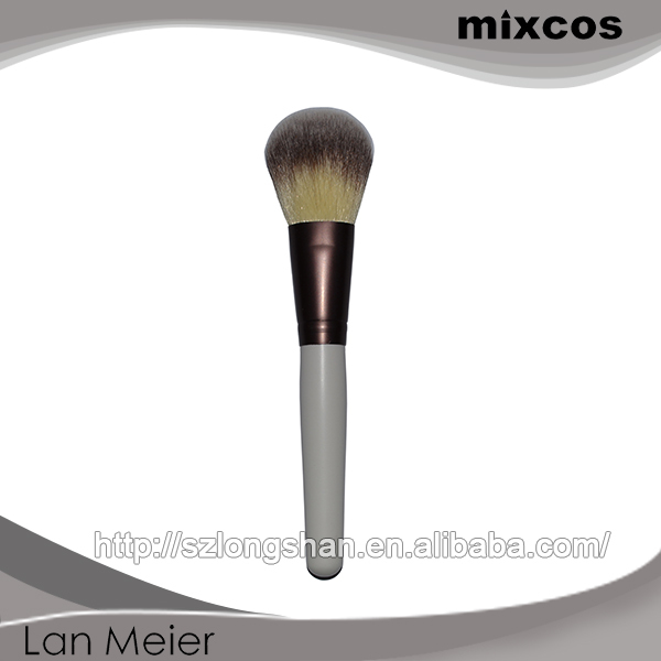 Classic Look Mixcos Custom 3Colors Synthetic Hair Comfortable Feeling Makeup Brushes Offer Samples