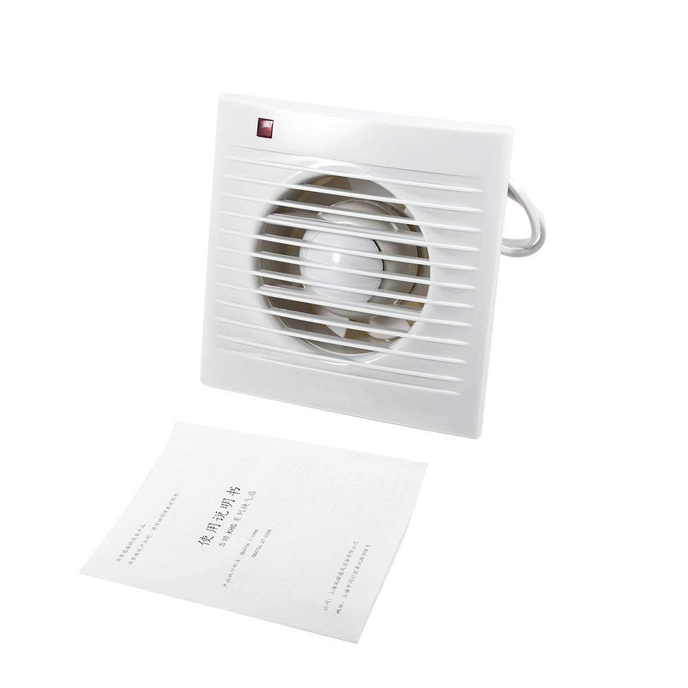Get Quotations Exhaust Fan Bathroom Wall Mounted Ventilating Extractor For Toilet Kitchen Window 220v