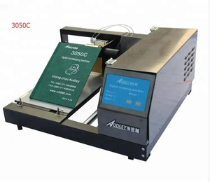 Audley 3050C computer control fully automatic a4 multifunctional jewely box hot foil stamping machine printer in China