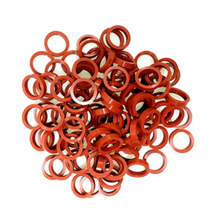 High performance O-ring ,Red ,rubber silicone ,All sizes of siliconerubber customizable sealing rings