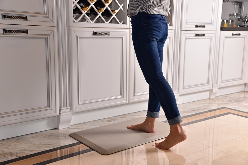 Kitchen Office Custom Pu Foam Pad Comfort Floor Mat Anti