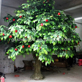 Artificial apple fruit tree for landscape decoration buy for Apple tree decoration