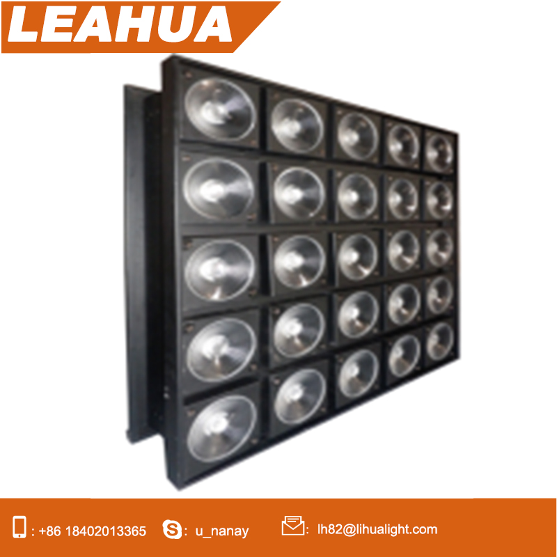 Professional Dmx512 Control 5x5 Dmx Led Audience Blinder Matrix Panel Beam 25x10w Rgbw 4 In 1 Led Matrix Blinder Light A Complete Range Of Specifications Stage Lighting Effect Commercial Lighting