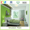 Low VOC mould proof chemicals resistant acrylic building interior wall latex emulsion paint