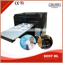 Automatic cd/dvd printer, Digital full automatic uv printer, UV printer for CD