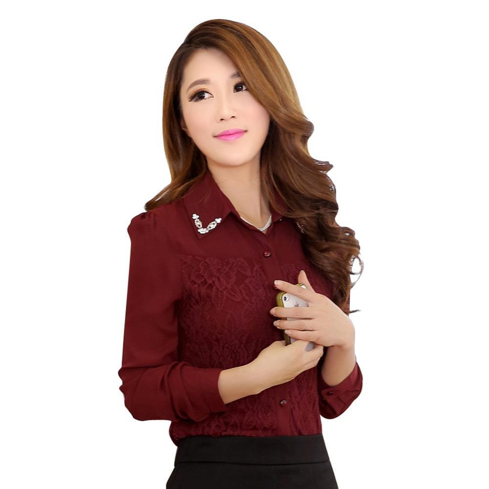 Cheap Pink Blouse Uk Find Deals On Line At Alibabacom Off Shoulder Wanita Charming Fuchsia Xl Get Quotations Best Selling Korean Career Fashion Clothing 2015 New Office Lady White Chiffon Shirts Size S