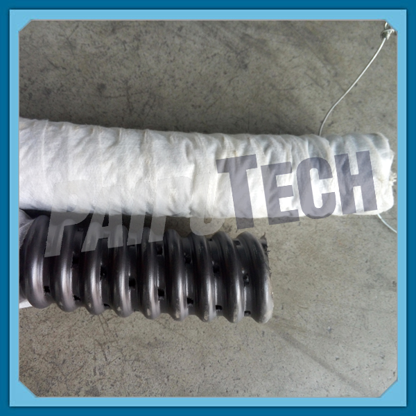 HDPE Perforated Corrugated Subsoil Drainage Tile Pipe Roll with Filter Sock