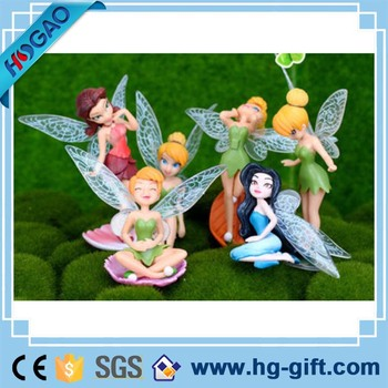 6X Flower Fairy Pixie Flying Family Miniature Dollhouse Garden Ornament  Figurines Wholesale