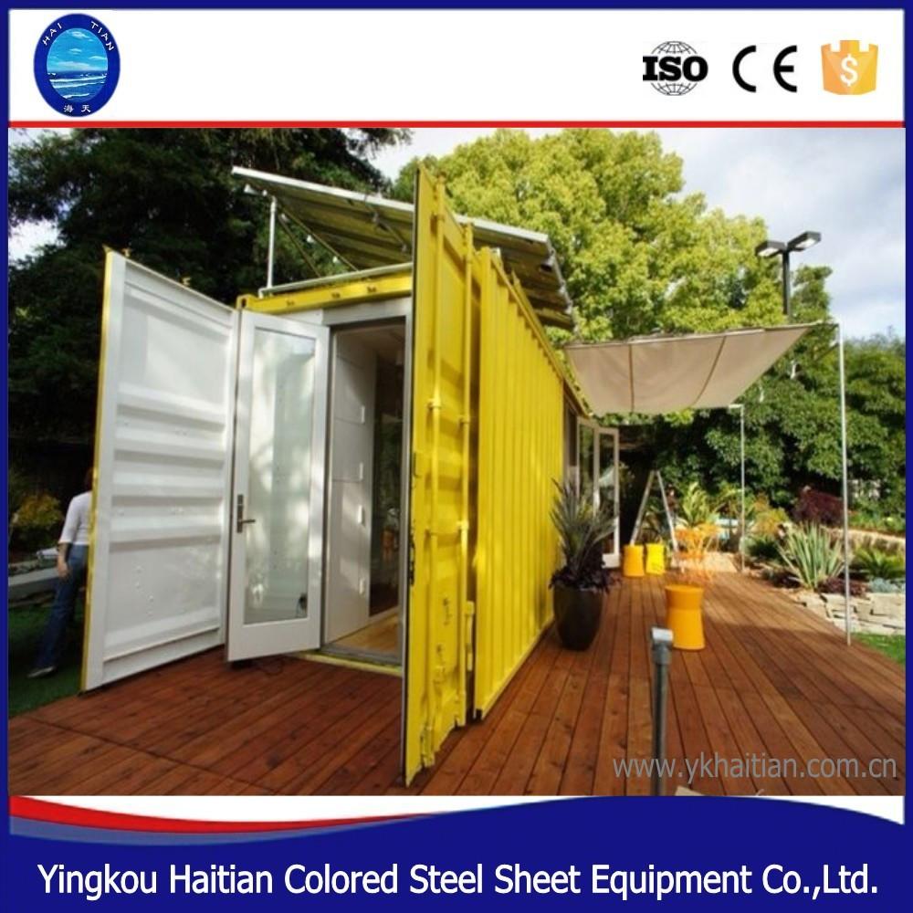 20ft 40ft moderne préfabriqué gratuite maisons-conteneurs plans ...