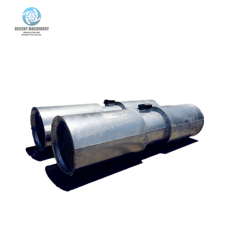 Sds Reversible Tunnel Ventilation Fan For Metro/rail Or
