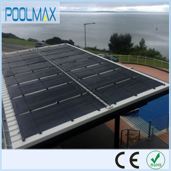 Swimming Pool Collector Heating Panel Rooftop Plastic Solar Pool ...