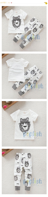 Summer Season Fashion Printed Fancy Boy White Color 1 Year Old Baby